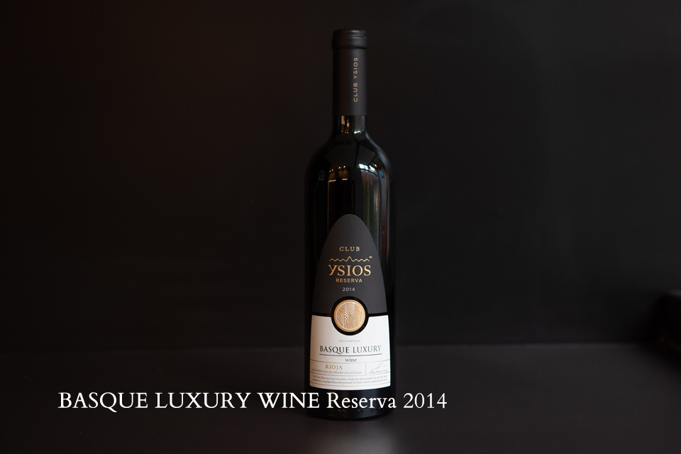 Basque Luxury Wine Reserva 2014