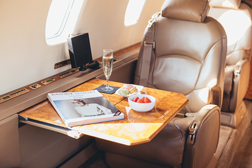 Basque Luxury Private Jet